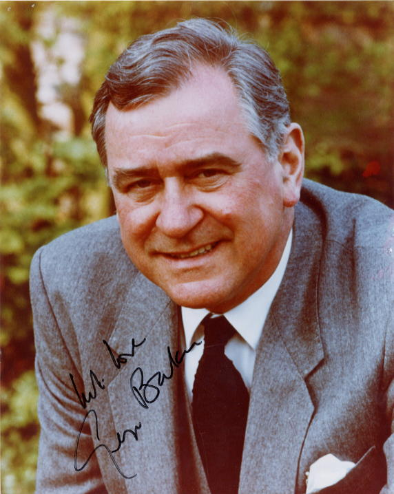 Baker, George (1929-) autographed photo as Inspector Wexford